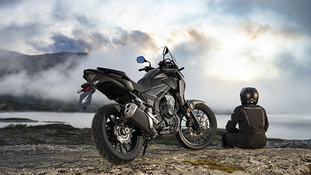 2021 Honda CB500X rear