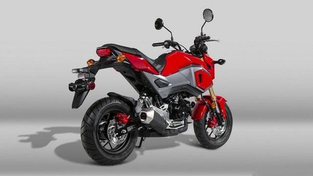 2021 Honda Grom rear