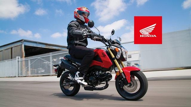 2021 Honda Grom side