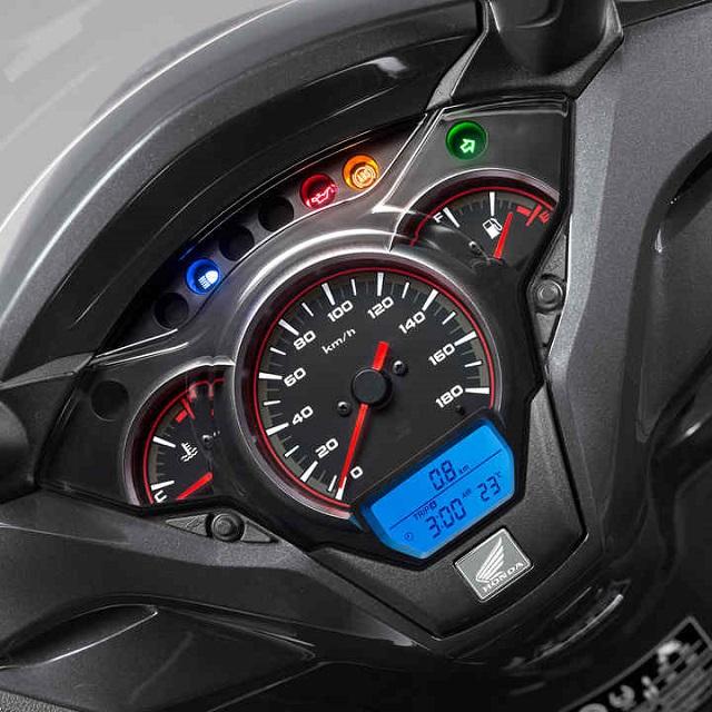 Honda SH 300i 2021 dash