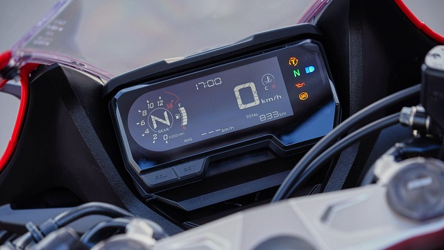 2021 Honda CBR650R dash