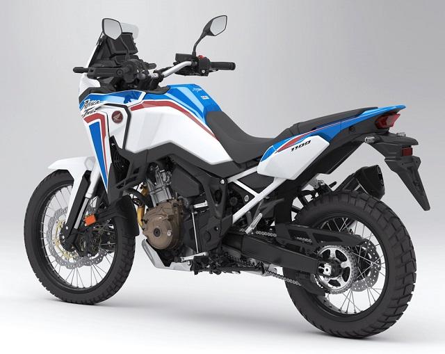 2021 Honda CRF1100L Africa Twin rear