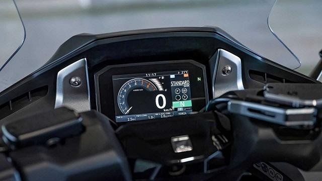 2021 Honda Forza 750 dash