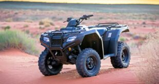 2021 Honda FourTrax Rancher front