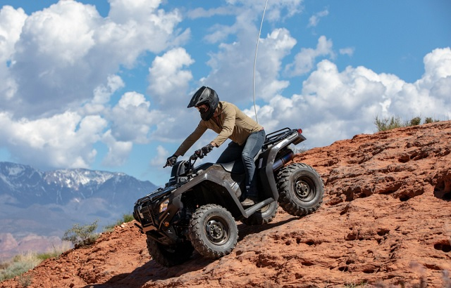2021 Honda FourTrax Rancher side