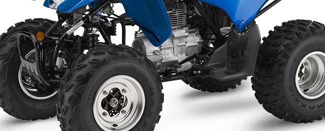 2021 Honda TRX250X handling