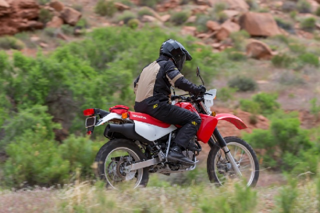 2021 Honda XR650L rear look