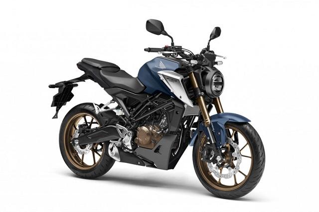 2021 Honda CB125R front