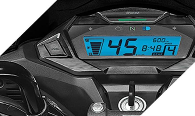 2021 Honda CRF250L digital instrument table