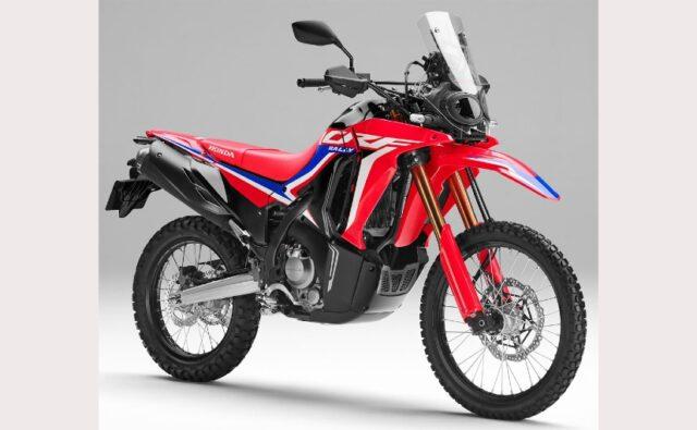 2021 Honda CRF250L front