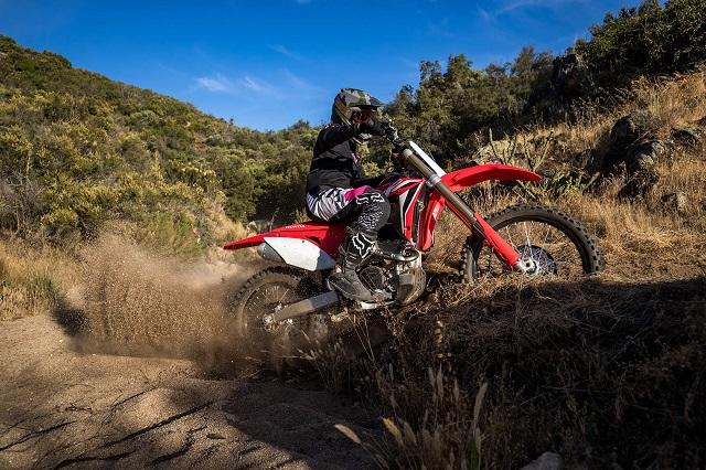 2021 Honda CRF250RX side