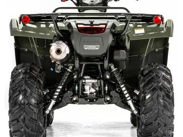 2021 Honda Foreman rear