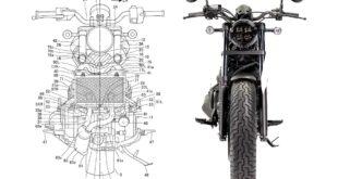 2021 Honda Rebel 1100 patent image