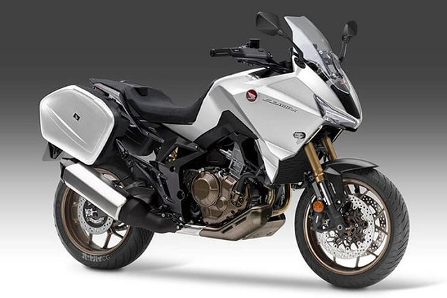 2021 Honda CB1100X front