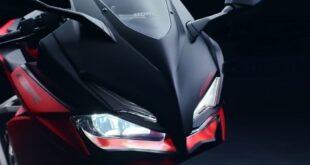 2021 Honda CBR150R headlights