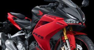 2021 Honda CBR250RR front