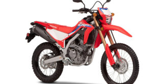 2021 Honda CRF300L front