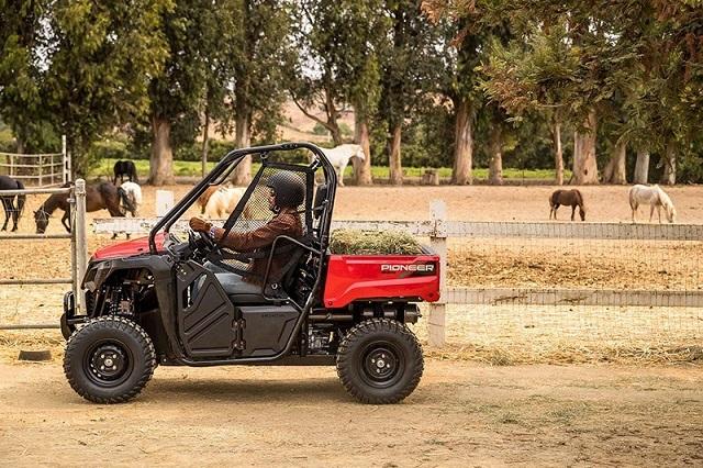 2021 Honda Pioneer 500 side