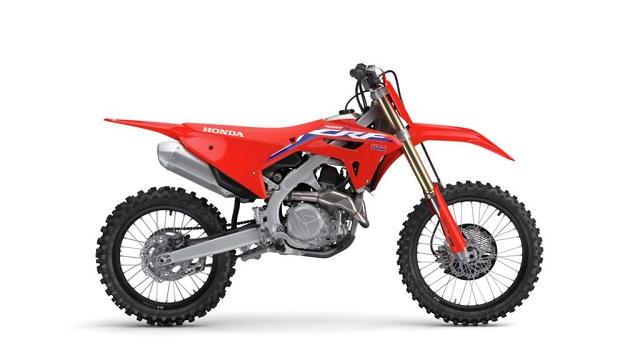 2021 Honda CRF450RL side