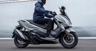 2021 Honda Forza 350 side