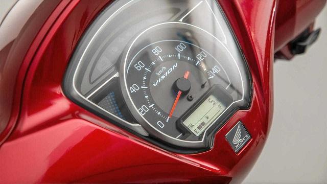2021 Honda Vision 110 LCD dash