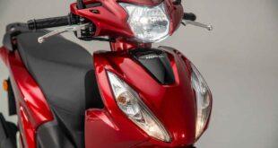 2021 Honda Vision 110 front