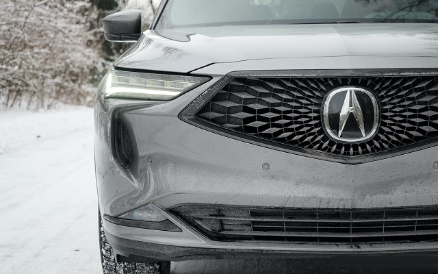 2022 Acura MDX grille