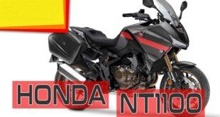 2022 Honda NT1100 front