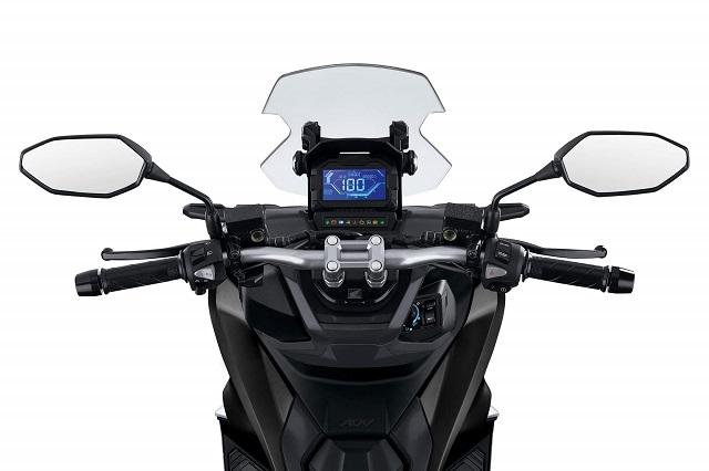 2022 Honda ADV150 LCD display