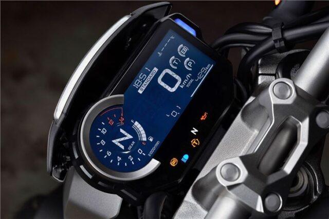 2022 Honda CB1000X dash