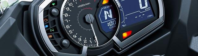 2022 Honda CBR600RR TFT instrument display