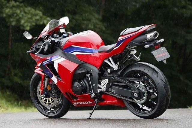 2022 Honda CBR600RR rear