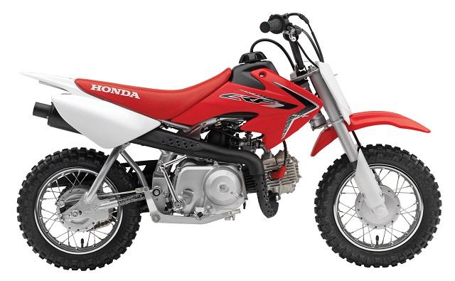 2022 Honda CRF50F side