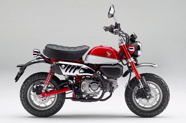 2022 Honda Monkey side