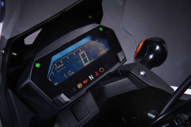 2022 Honda NC750X dashboard