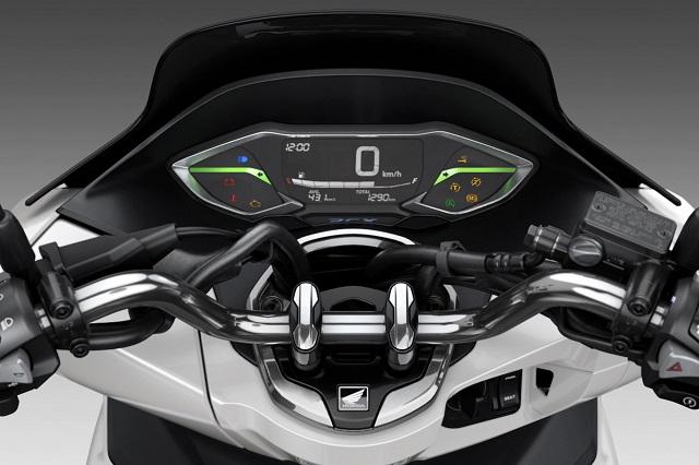 2022 Honda PCX digital dash