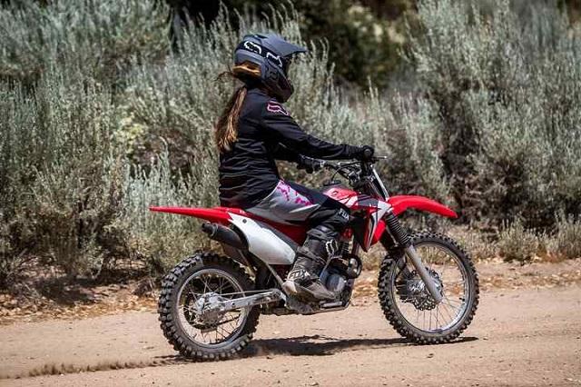 2022 Honda CRF125F rear