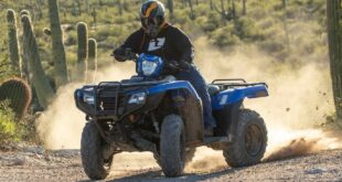 2022 Honda FourTrax Rancher front