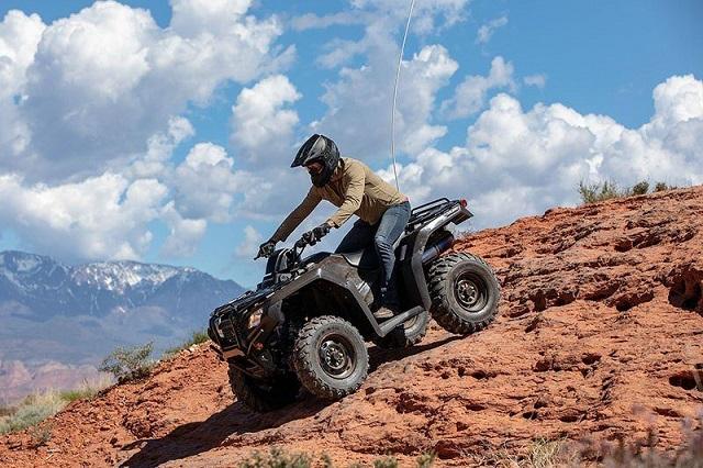 2022 Honda FourTrax Rancher side