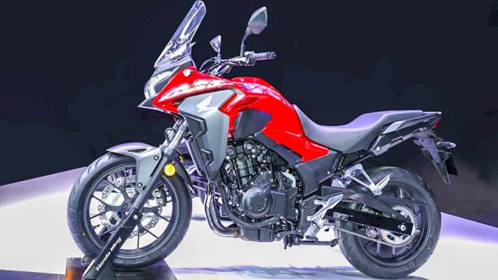 2022 Honda CB400X side