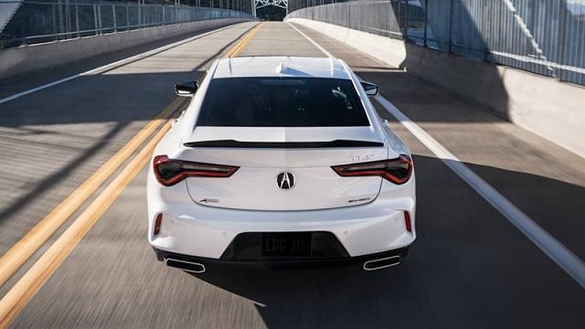 2023 Acura ILX rear