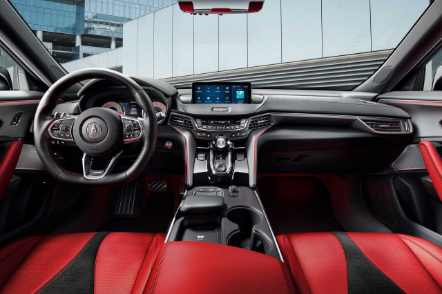 2023 Acura TLX Type S cabin